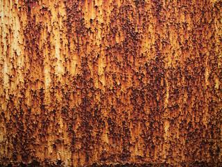 brown old rust metal plate background