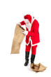Santa with empty bags