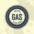 gas label