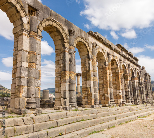 Ruins at Volubilis Morocco