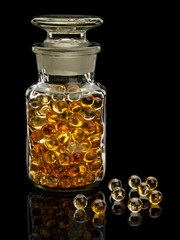 Pills with cod-liver oil