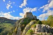 Montsegur cathar castle in France - 58362224