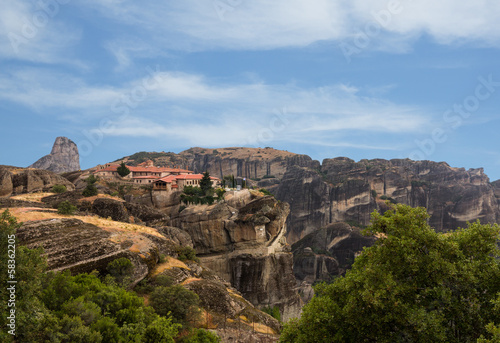 The Holy Monastery of Varlaam in Meteora