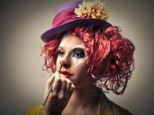 Klaun Make-Up