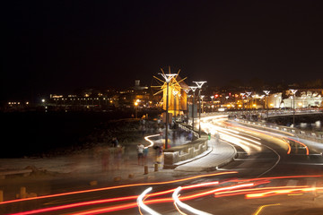 Nessebar in night