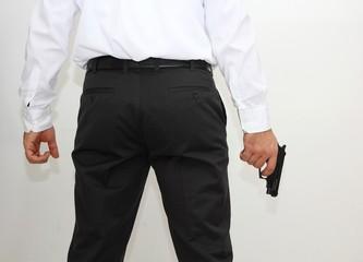 Man with the gun
