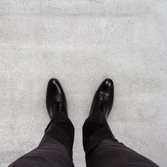 businessman feet