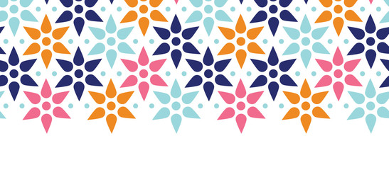 vector abstract colorful stars seamless pattern background