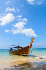 Thai Traditional longtail boat