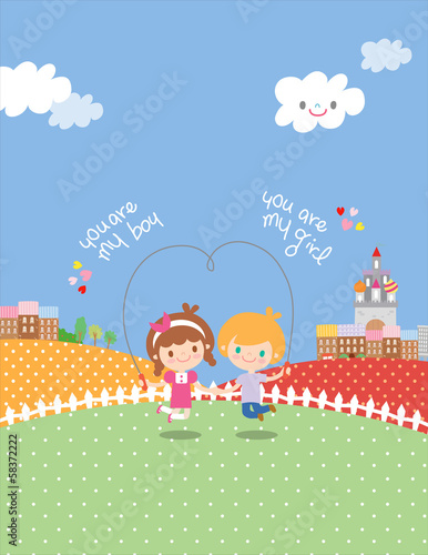 GIH0039 비타키즈 Kids illustration
