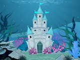Fototapety Mermaid Castle