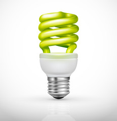 Ecological lightbulb, Energy saving concept