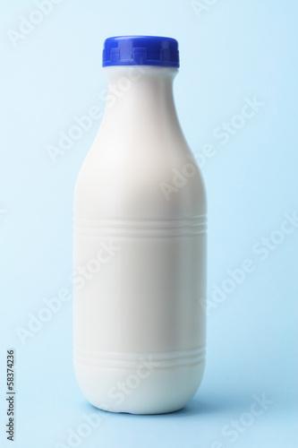 Leinwandbild Motiv Plastic Milk Bottle