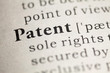 Leinwandbild Motiv Patent
