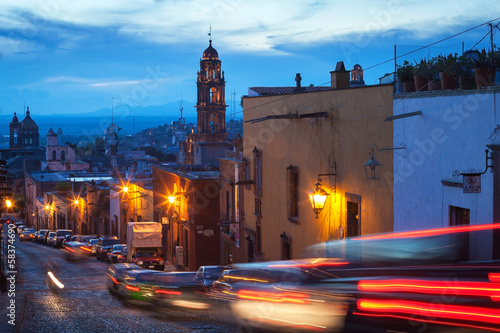 The historic Mexican city of San Miguel de Allende