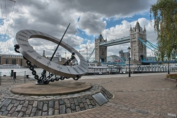 Magnificent view of Tower Bridge in London