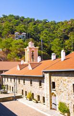 Holy Monastery of Virgin of Kykkos in Troodos mountains, Cyprus