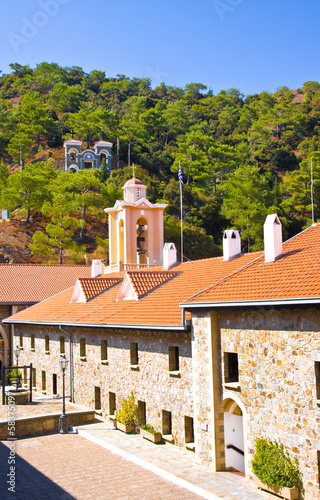 Holy Monastery of Virgin of Kykkos in Troodos mountains, Cyprus
