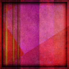 grunge frame background pink and red