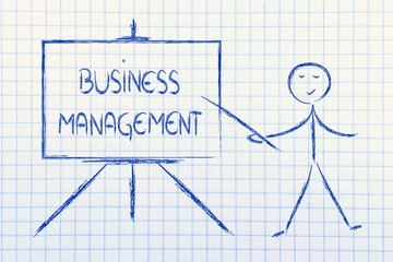 learn about business management