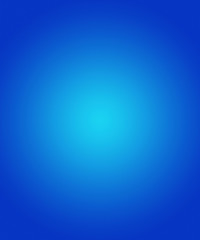 Blue Circular Gradient Background