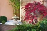 Fototapeta Jardin japonais en automne