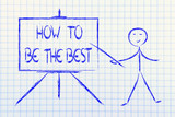 how to be the best and the leader