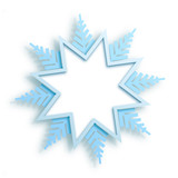 Vector cover winter