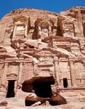 Corinthian Tomb - Petra - Jordanie poster