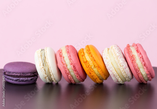 canvas print picture Macarons