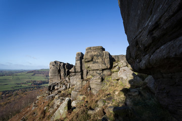 Curbar Edge Rock