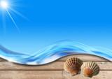 Fototapety Holiday Sea Background