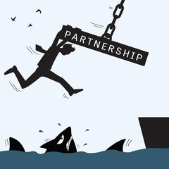 Partnership helping and survive