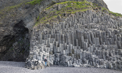 Reynisfjara rock formations