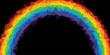 rainbow Geometric background vector eps 10