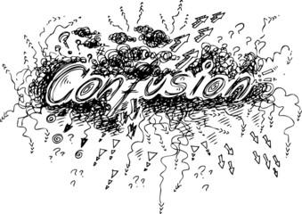 Sketchy CONFUSION word