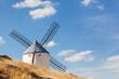 Windmills of Consuegra in La Mancha region of  Spain.