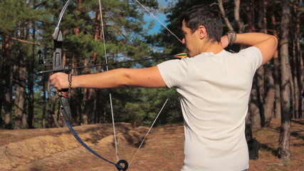 Bow Shooting Man