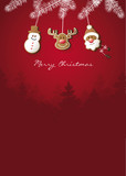 christmas_poster_red_vector