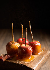 Group Of Candy Apples