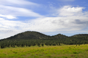 volcan Sunset crater