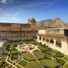Garten in Fort Amber - Jaipur