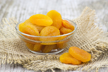 bowl full of dried apricots