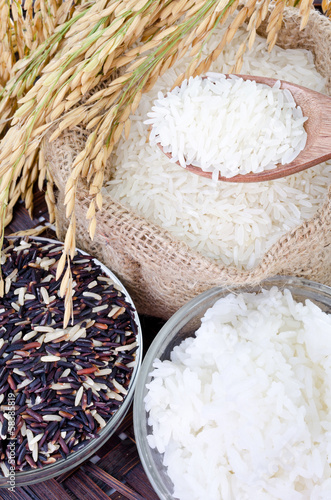 Raw rice, Selection Of Rices