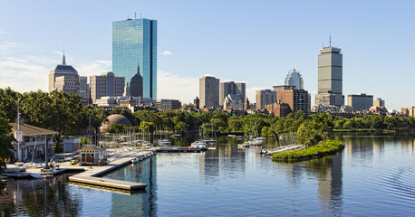 Boston in Massachusetts, USA