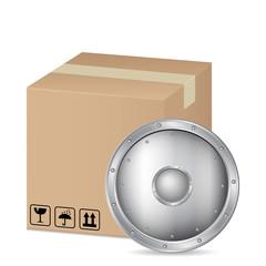 box and shield