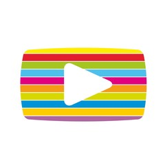 Multicolor Video icon