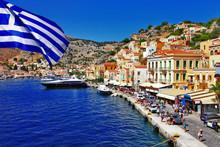 Griechenland bunte Serie - Insel Symi