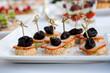 Banquet, food