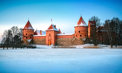 Trakai - historic city and lake resort in Lithuania